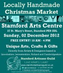 Stamford's Own Handmade Christmas Market.  LOVE WHAT'S LOCAL!